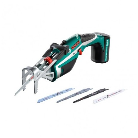 BOSCH GREEN KEO SET 10.8V CORDLESS GARDEN SAW WITH INTEGRATED BATTERY