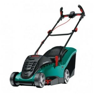BOSCH GREEN ROTAK 37 ERGOFLEX CORDED ELECTRIC ROTARY LAWN MOWER