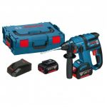 BOSCH GBH 18 V-EC BRUSHLESS SDS+ ROTARY HAMMER INC 2X 4AH BATTS