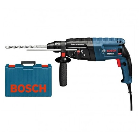 BOSCH GBH 2-24 D SDS+ ROTARY HAMMER DRILL IN CARRY CASE