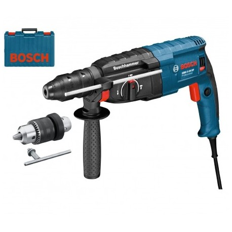 BOSCH GBH 2-24 DF SDS+ ROTARY HAMMER WITH QCC IN CARRY CASE
