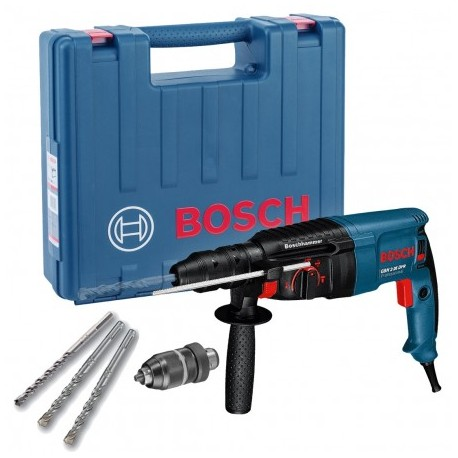 BOSCH GBH 2-26 DFR SDS+ PLUS ROTARY HAMMER DRILL IN CARRY CASE WITH QCC