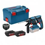 BOSCH GBH 36 V-EC CP 36V COMPACT BRUSHLESS SDS+ PLUS ROTARY HAMMER DRILL INC 2X 2.0AH BATTS