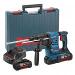 BOSCH GBH 36 V-LI PLUS 36V SDS+ ROTARY HAMMER INC 2X 6AH BATTS