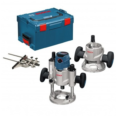 """BOSCH GMF 1600 CE PROFESSIONAL MULTIFUNCTION 1/4"""" AND 1/2"""" ROUTER"""