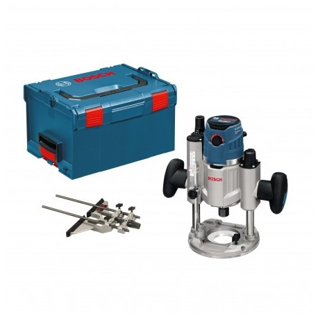 """BOSCH GOF 1600 CE PROFESSIONAL PLUNGE-CUTTING 1/4"""" + 1/2"""" ROUTER"""