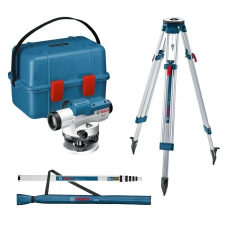 BOSCH GOL 26 D + BT160 + GR500 OPTICAL LEVEL SET