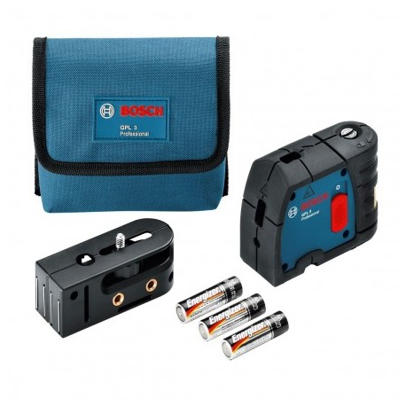 BOSCH GPL 3 POINT SELF-LEVELLING LASER