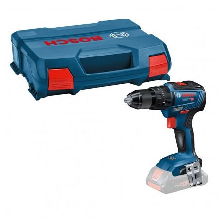 BOSCH GSB 18 V-55 BRUSHLESS COMBI DRILL BODY ONLY IN L-CASE