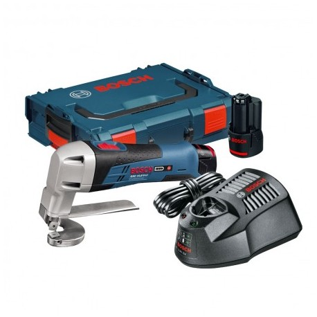BOSCH GSC 12V-13 (10.8 V-LI) CORDLESS METAL SHEAR INC 2X 2.0AH BATTS
