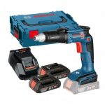 BOSCH GSR 18 V-EC TE 18V BRUSHLESS DRYWALL SCREWDRIVER INC 2X 2.0AH BATTS