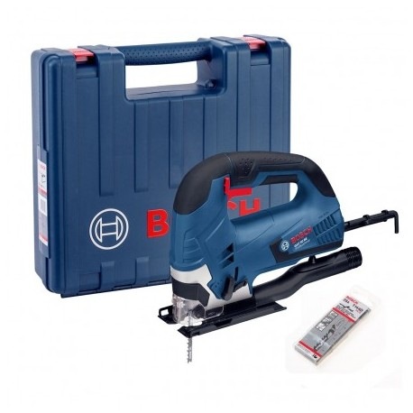BOSCH GST 90 BE 90MM BOW HANDLE JIGSAW IN CARRY CASE + 25 BLADES