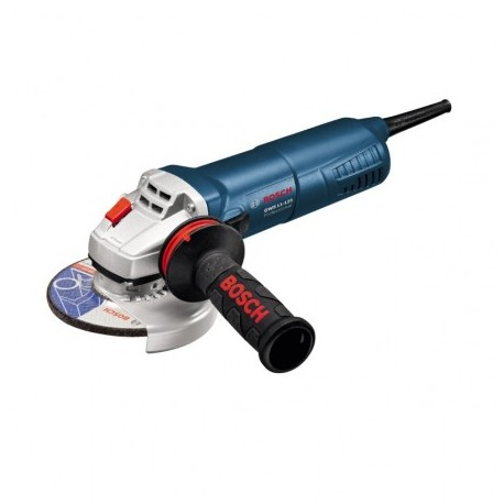 BOSCH GWS 11-125 AVH SLIM GRIP ANGLE GRINDER WITH ANTI VIBRATION HANDLE