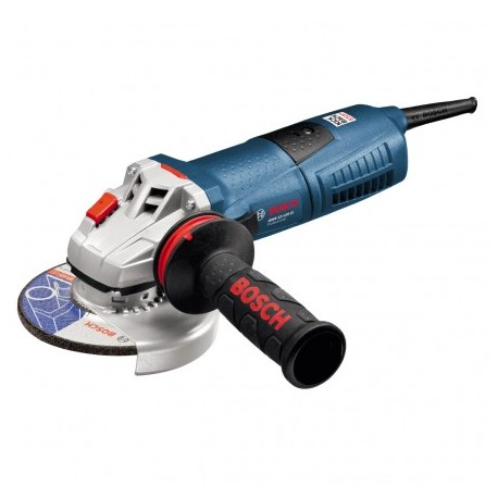 BOSCH GWS 12-125 CI ANGLE GRINDER WITH ANTI VIBRATION HANDLE & CARRY CASE