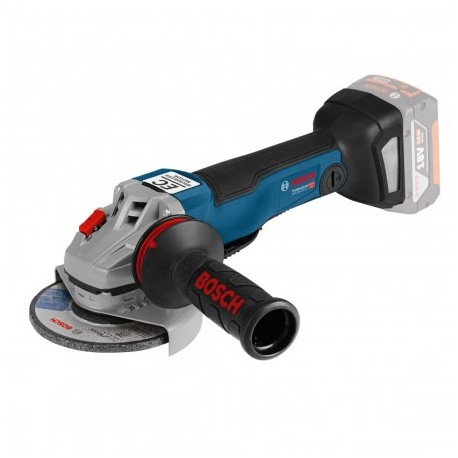"BOSCH GWS 18 V-10 PC 125MM/5"" ANGLE GRINDER BODY ONLY"