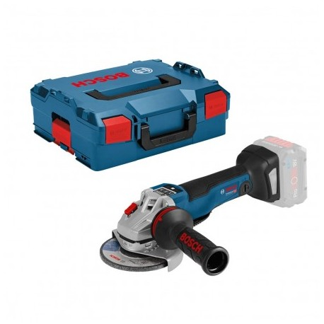 """BOSCH GWS 18 V-10 PSC 125MM/5"""" ANGLE GRINDER BODY ONLY IN L-BOXX"""