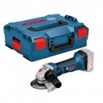 BOSCH GWS 18 V-LI ANGLE GRINDER BODY ONLY IN L-BOXX