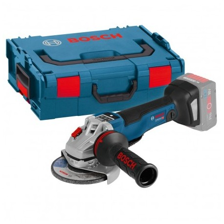 BOSCH GWS 18V-125 PSC BRUSHLESS ANGLE GRINDER BODY ONLY IN L-BOXX