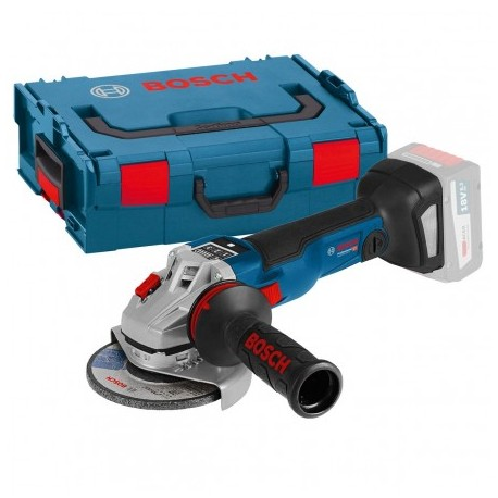 BOSCH GWS 18V-125 SC BRUSHLESS ANGLE GRINDER BODY ONLY IN L-BOXX