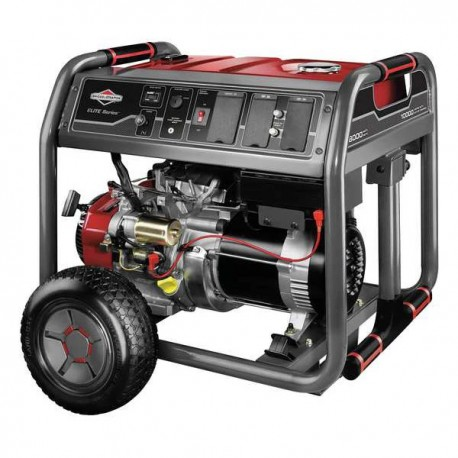 BRIGGS & STRATTON 30664 8000 WATT ELITE SERIES GAS POWERED PORTABLE RV GENERATOR - SCRATCH AND DENT