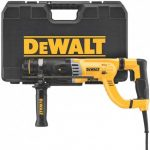 DEWALT D25263K 8.5 AMP 1-18-INCH CORDED D-HANDLE SDS PLUS SHOCKS ROTARY HAMMER