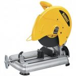 "DEWALT D28715 14"" 5.5 HP ABRASIVE METAL CHOP SAW - QUICK CHANGE BLADE"
