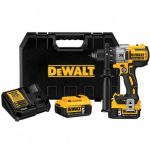 DEWALT DCD991P2 20-VOLT 1/2-INCH 3-SPEED 5.0AH LITHIUM-ION DRILL/DRIVER KIT