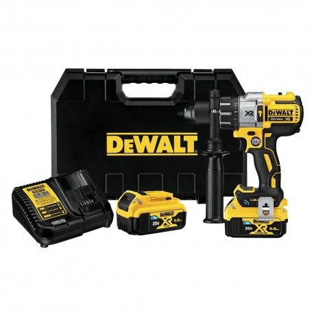 DEWALT DCD997P2BT 20-VOLT 1/2-INCH TOOL CONNECT HAMMER DRILL KIT - BARE TOOL