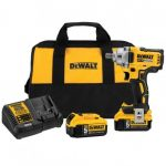 DEWALT DCF894P2 20-VOLT XR 1/2-INCH MID-RANGE DETENT PIN ANVIL IMPACT WRENCH KIT
