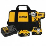 DEWALT DCF896P2 20 VOLT 1/2 INCH PIN ANVIL BRUSHLESS IMPACT WRENCH KIT