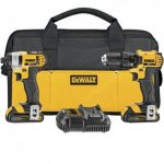 DEWALT DCK280C2R 20V MAX LITHIUM ION COMPACT DRILL & IMPACT COMBO KIT (1.5 AH) – RECONDITIONED