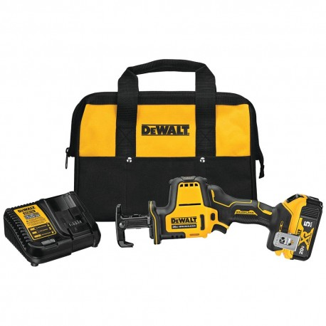 DEWALT DCS369P1 20V MAX ATOMIC CORDLESS RECIPROCATING COMPACT SAW KIT