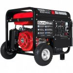 DUROSTAR DS10000E 10000-WATT 18-HP GAS GENERATOR W ELECTRIC START AND WHEEL KIT