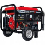 DUROSTAR DS4850EH 4,850-WATT DUAL FUEL HYBRID GENERATOR W ELECTRIC START