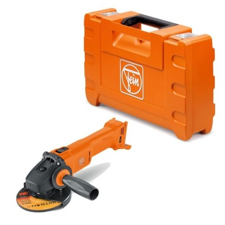 FEIN CCG 18-115 BL 18V SELECT+ CORDLESS ANGLE GRINDER 115MM BODY ONLY IN CARRY CASE