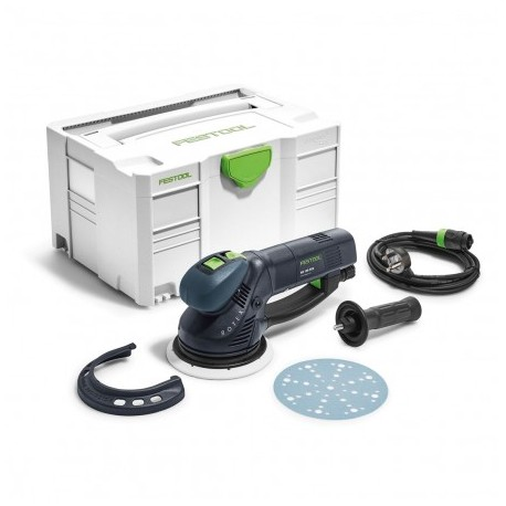 FESTOOL 575072 ROTEX GEARED ECCENTRIC SANDER RO 150 FEQ-PLUS GB 240V