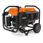 GENERAC GP3600 212CC 120-VOLT 30-AMP GAS POWERED PORTABLE GENERATOR – 7677