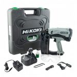 HIKOKI NT65GS/J9 GAS NAIL GUN SECOND FIX 16 GAUGE (STRAIGHT NAILS)