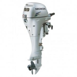 """HONDA BF10DK3LHS BF10 9.9 HP ELECTRIC START ENGINE 20"""" GAS POWERED OUTBOARD MOTOR"""