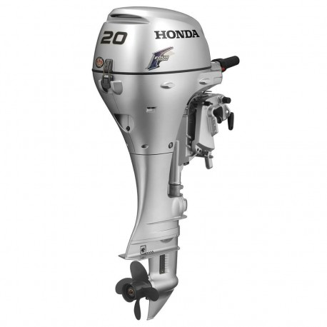 "HONDA MARINE BF20 20 HP ENGINE 20"" SHAFT GAS POWERED OUTBOARD MOTOR - SCRATCH AND DENT"
