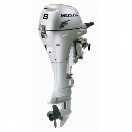 """HONDA MARINE BF8 8 HP ELECTRIC START ENGINE 20"""" GAS POWERED OUTBOARD MOTOR - SCRATCH AND DENT"""