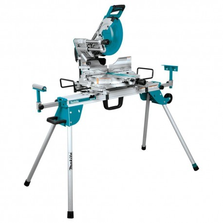 MAKITA LS1219LX 12 INCH DUAL SLIDE COMPOUND MITER SAW W/ LASER AND STAND