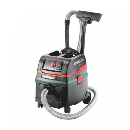 METABO ASR 25 L SC ALL-PURPOSE 25L L-CLASS WET/DRY DUST EXTRACTOR VACUUM CLEANER