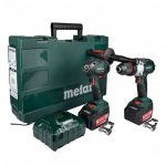 METABO COMBO SET 2.1.15 18V COMBI DRILL & IMPACT DRIVER BRUSHLESS INC 2X 4.0AH BATTS