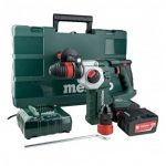 METABO KHA 18 LTX BL 24 QUICK BRUSHLESS SDS+ PLUS HAMMER DRILL INC 2X 4.0AH BATTS