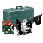 METABO MFE 40 1900W/1700W WALL CHASER INC 2X DIAMOND BLADES IN CARRY CASE