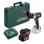 METABO SB 18 LTX IMPULS POWEREXTREME 18V COMBI DRILL INC 2X 5.2AH BATTS