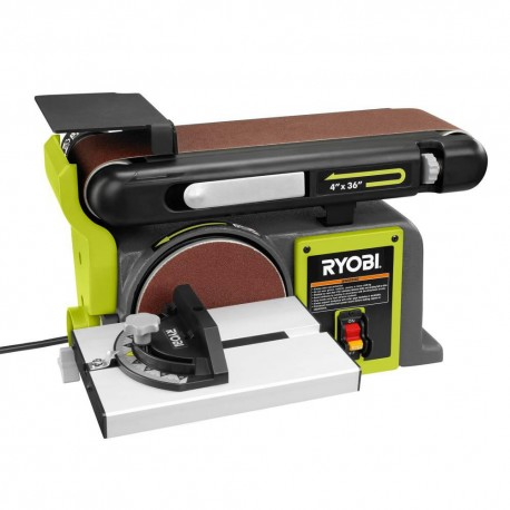 RYOBI 4 in x 36 in. Belt and 6 in. Disc Sander