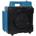 XPOWER X-2580 1 HP 550-CFM 4 STAGE COMPACT HEPA PURIFIER AIR SCRUBBER, BLUE