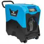 XPOWER XD-85LH 180-CFM 6.7-AMP PURGE PUMP COMMERCIAL LGR DEHUMIDIFIER KIT